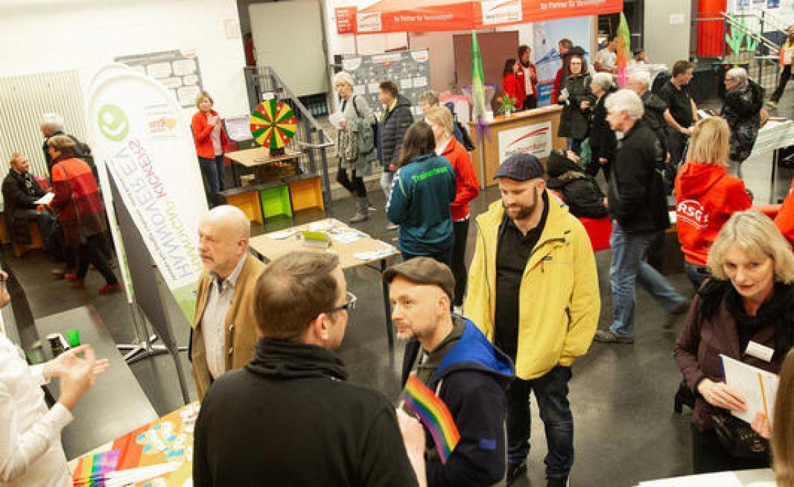 Freiwilligen Börse Hannover, 02.03.2019, Kulturzentrum Pavillon, Foto: Helge Krückeberg